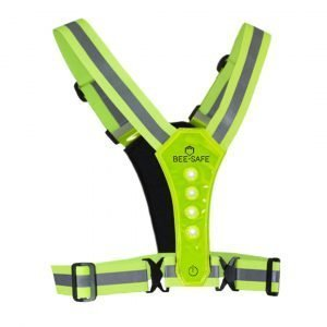 Bee-Safe-Led-Harness-USB-geel-NonStop-Running