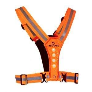Bee-Safe-Led-Harness-USB-oranje-NonStop-Running