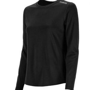 Fusion-women-Nova-LS-Shirt-black-NonStop-Running