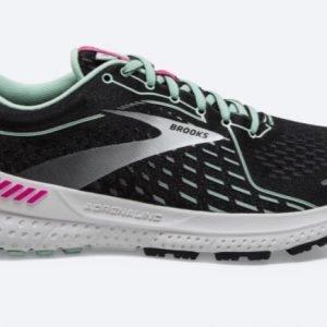Brooks-Adrenaline-GTS-21-Black-Pink-Yucca-NonStop-Running