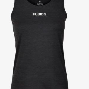 Fusion-womens-C3-Singlet-Black-NonStop-Running