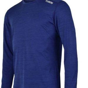 Fusion-Mens-C3-Longsleeve-blauw-NonStop-Running