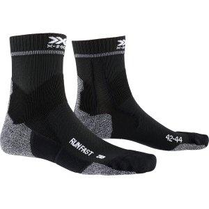 X-socks-running-fast-zwart-NonStop-Running